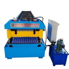 Aluminum Glavanized Corrugated Roofing Sheet Making Machine