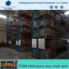 Sistema estándar de Warehouse Forklift Pallet Rack para envío