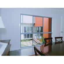 Erschwingliche ökonomische Einzelglas-dünne Rahmen-Aluminiumfenster