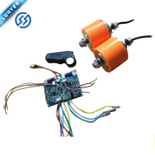 24v Mini Wireless Remote Bluetooth Control Electric Hub Motor Scooter Holzer Line Motor Set PU Detachable Electric Slide Bracket