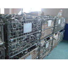Dilipat Susun Wire Mesh Container