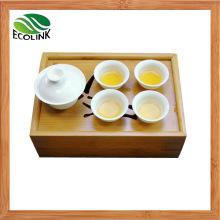 Bamboo Rectangle Shaped Tea Tray / Tea Plate
