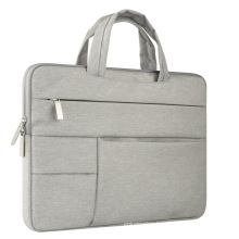 multi-pockets business hand bag computer sleeve bag