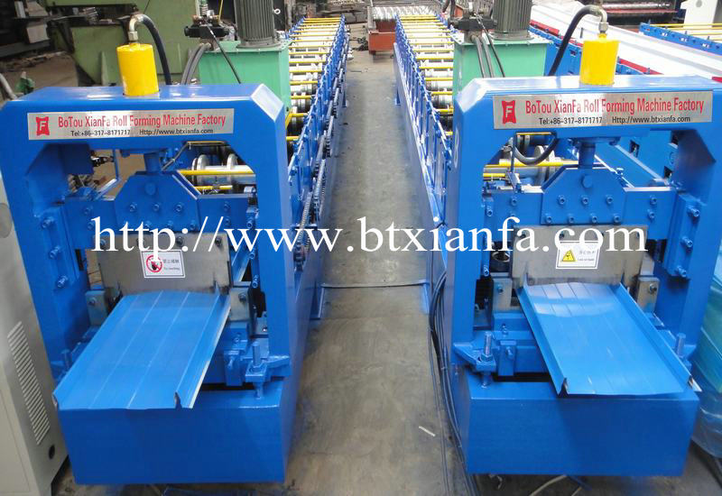 Self Lock Roof Roll Forming Machine