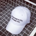 Embroidery Closure Baseball Cap Plastic Back Closure Ball Hat Structured Hats