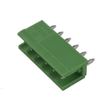 Borne de connecteur de broche PCB enfichable au pas de 3,96 mm