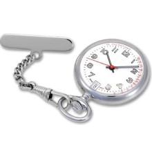 Nouvelle montre de quartz de poche d'alliage de mode de Nurese de mode (HL-CD011)