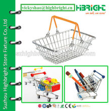 mini super small size metal shopping basket