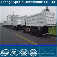 Mano izquierda conducir camiones pesados de 6 X 4 vuelco de 30tons