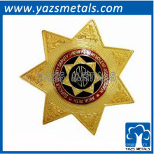 fertigen Sie Qualitäts-Stift, kundenspezifisches Stern-Militärabzeichen besonders an
