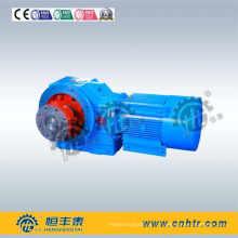 Engrenage hélicoïdal avec coupleur 50000nm Réducteur de vitesse de la série K