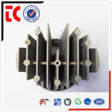 Customize sand blasted aluminium lamp heat sink die casting