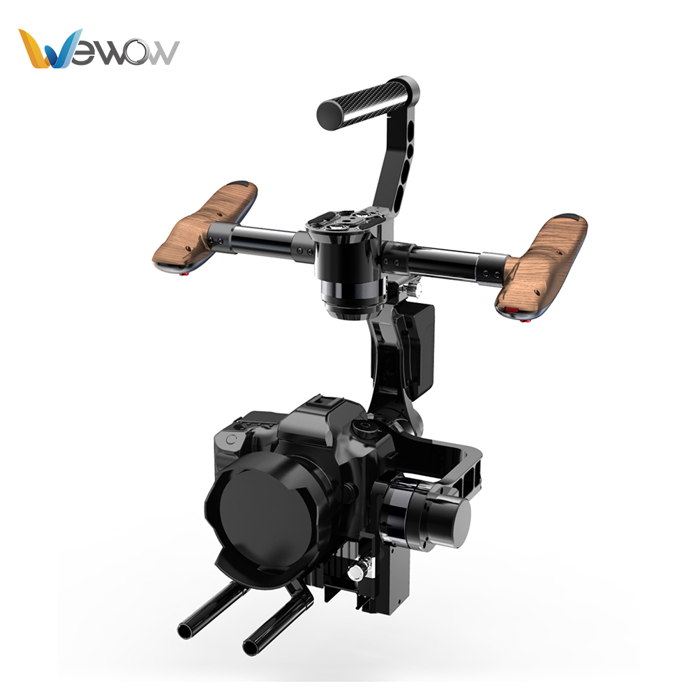 Wewow أفضل 3-Axis Camera Gimbal مثبت لـ DSLR
