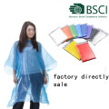 Disposable Emergency Rain Ponchos Various Colors