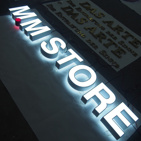 Acrylic Face Backlit Led Light Channel Letters 600