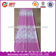 Pink Rose Cheap Printing 100 % Cotton Fabric Bed Sheets