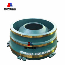 Spare parts bowl liner for Metsos cone crusher