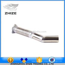 Tubo de escape flexível de aço inoxidável do motor da peça do ônibus para Yutong