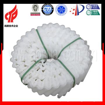 высокая температура круглый наполнитель для градирни/PP белая шпатлевка
