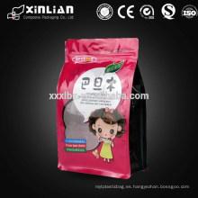 Bolsa plástica de la fruta seca de la parte inferior cuadrada de la alta calidad para el empaquetado de los alimentos