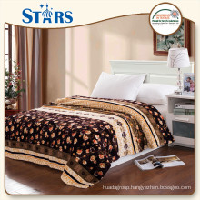 GS-XYMTY001-06 superior supplier Printed Flannel family thick blankets