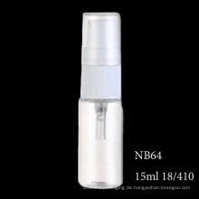 Hohe Qualität Pet Parfümflasche 15 ml 20 ml Flasche (NB64)