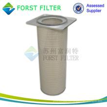 Cartucho de polvo de mandril cuadrado superior de FORST Elemento de filtro reemplazado