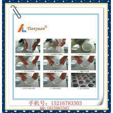 Non-tissé / aiguilles en feutre en acier inoxydable Bagues à filtre PP pour la filtration de poussière