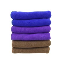 100%polyester Microfiber Customized Coral Fleece Towel