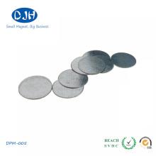 Ímã de NdFeB do disco do material magnético da terra rara para a embalagem