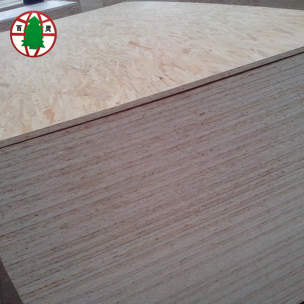 High Mositure Resistance Poplar Material OSB Board