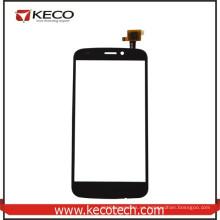 El 100% probó el teléfono móvil negro Nuevo digitizador de la pantalla táctil de las piezas para la mosca IQ4410i