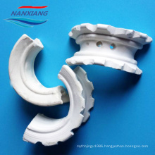 25mm 38mm 50mm 76mm Ceramic Saddle Packing Ring for Mass Transfer