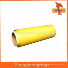 Food grade PVC aderir filme / PVC stretch filme para envoltório alimentar china fabricante
