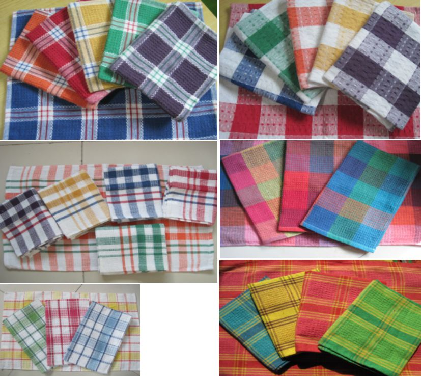 Plaid Tea Towel