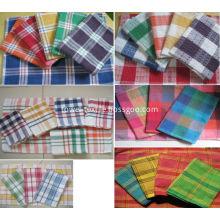 Tea Towel Wholesale Classic Plaid Cotton Tea Towels