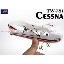 Rádio Controle RC Aviões, RC Planos, & RC Helicópteros Cessna TW-781 controle remoto rc avião