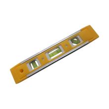 Herramienta de medición de nivel de burbuja horizontal vertical de carcasa de ABS