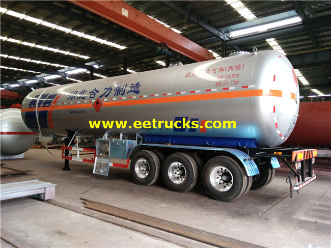 30MT Propane Semi-trailer Tankers