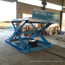 Élévateur rapide hydraulique à ciseaux