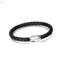 Bracelet en cuir pas cher mode, bracelet en cuir bio magnétique