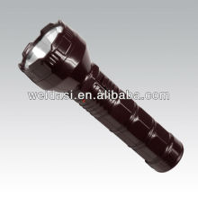 1 blue point flashlight brown color