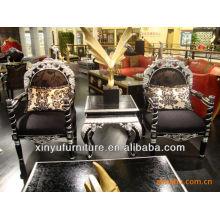 Ensembles de table et de table en bois pour accoudoirs XYD107