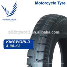 Heavy Duty Auto Rickshaw Tricycle moto pneu 4.00-12