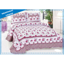 Cotton Print Quilt Bedspread Bed Cover