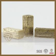 Segmento de diamante do elemento seis para mármore, corte rápido