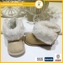 Botines libres del bebé de la tela de los zapatos de bebé del envío