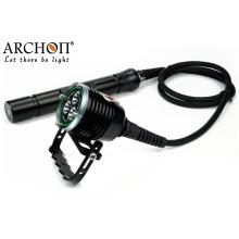 Professional 30watts CREE LED 26650 Batterie LED Plongée Lampe de poche