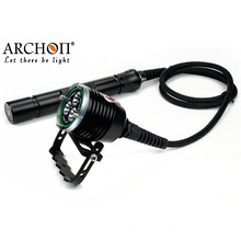 Профессиональный 30watts CREE светодиодный 26650 батареи светодиодный фонарик подводного плавания