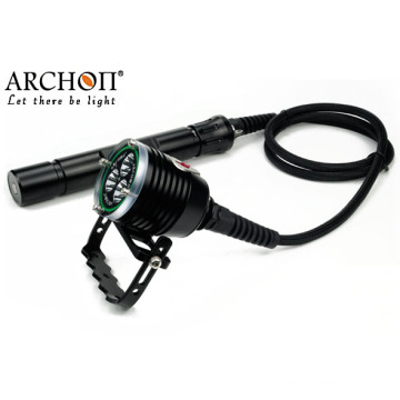 Professional 30watts CREE LED 26650 Battery LED Diving Flashlight